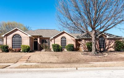 Keller Single Family Home Active Option Contract: 1544 Sarah Brooks Drive