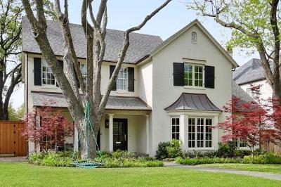 University Park Single Family Home For Sale: 3409 Centenary Avenue