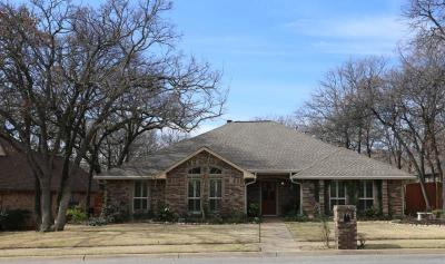 Keller Single Family Home Active Option Contract: 1424 Cat Mountain Trail