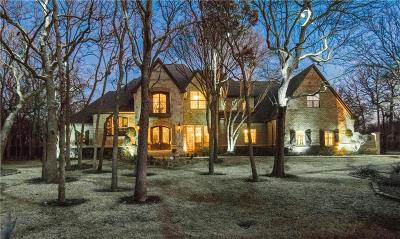 Flower Mound Single Family Home For Sale: 2906 River Bend Trail