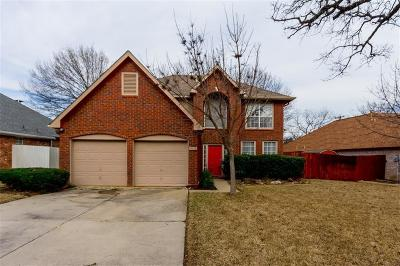 Grapevine Single Family Home Active Option Contract: 1813 Parkwood Drive