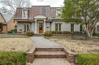 Highland Park Single Family Home For Sale: 4536 S Versailles Avenue