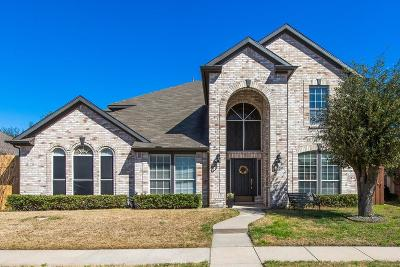 Garland Single Family Home Active Option Contract: 2206 Valley Creek Drive