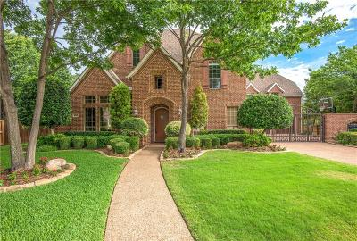 Flower Mound Single Family Home Active Option Contract: 4815 Aurora Court