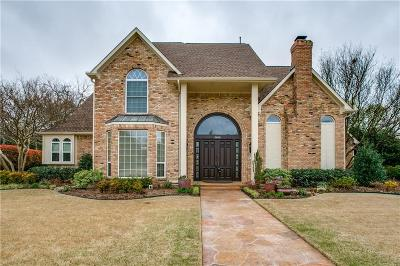 Plano Single Family Home Active Option Contract: 2808 Saint Charles Drive