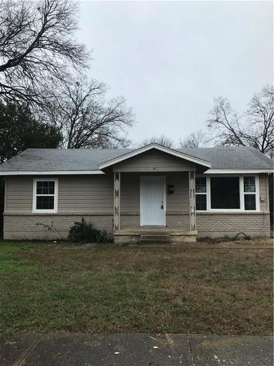 Dallas Single Family Home For Sale: 2602 Marjorie Avenue