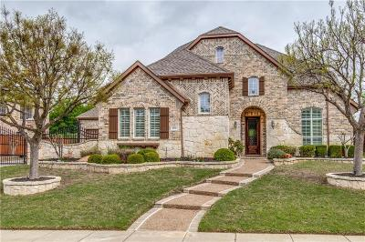 Prosper Single Family Home Active Contingent: 891 Willowgate Drive
