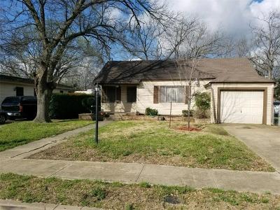 Dallas Single Family Home For Sale: 3019 Maryland Avenue