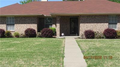 Royse City, Union Valley Single Family Home Active Option Contract: 201 College Street