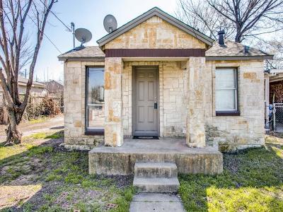 Dallas Single Family Home For Sale: 210 W Grover C Washington Avenue