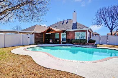 Mesquite Single Family Home Active Option Contract: 1318 Woodthorpe Drive