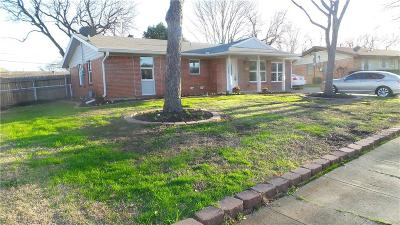 Irving Single Family Home Active Option Contract: 2726 Stanford Drive