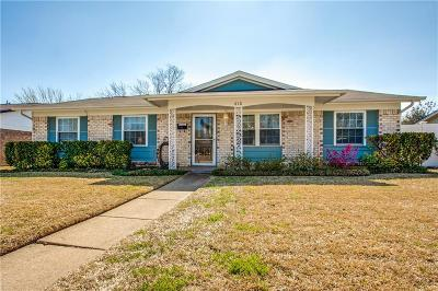 Single Family Home For Sale: 810 Birchwood Drive