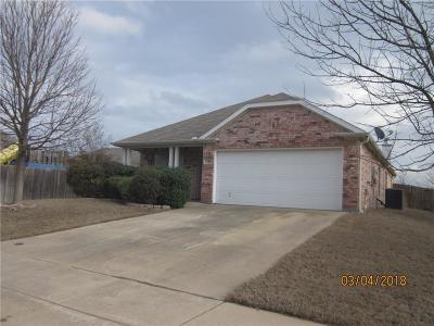 Waxahachie Single Family Home Active Option Contract: 316 Meagan Street