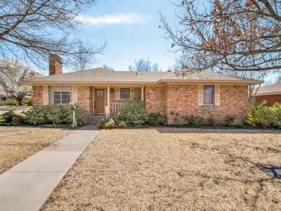 McKinney Single Family Home For Sale: 1801 Erwin Place