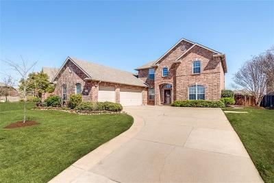 Keller Single Family Home Active Option Contract: 1407 Chase Oaks Drive