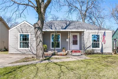 Grand Prairie Single Family Home Active Contingent: 1026 Oak Street