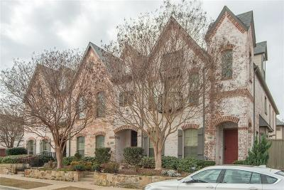 McKinney Townhouse For Sale: 1916 Desoto Drive