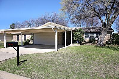 Haltom City Single Family Home Active Option Contract: 5629 Brent Drive
