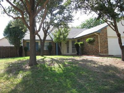 Bedford Single Family Home Active Option Contract: 2417 Chinaberry Drive