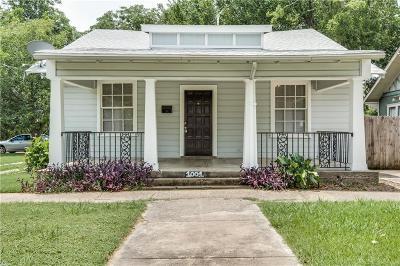 Dallas Single Family Home For Sale: 1001 N Fitzhugh Avenue