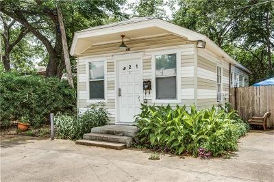 Dallas Single Family Home For Sale: 921 N Fitzhugh Avenue