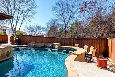 Rockwall Single Family Home Active Option Contract: 1534 Parkside Circle