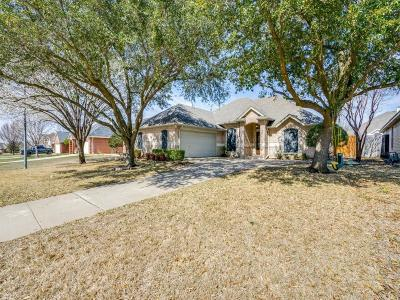 Mansfield Single Family Home Active Option Contract: 1517 Brittany Lane