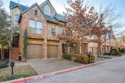 Addison Townhouse For Sale: 4145 Towne Green Circle