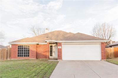Joshua Single Family Home Active Option Contract: 313 Comanche