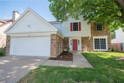 Grapevine Single Family Home For Sale: 510 Arbor Oak Drive