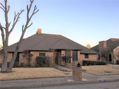 Desoto Single Family Home For Sale: 508 Deer Creek Drive