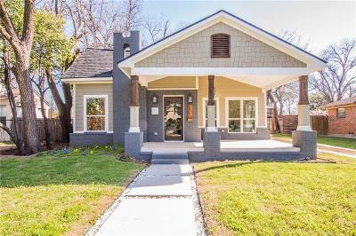 North Oak Lawn, North Oak Lawn Add, Notth Oak Lawn, Oak Lawn Heights, Oaklawn Single Family Home Active Option Contract: 5314 Parkland Avenue
