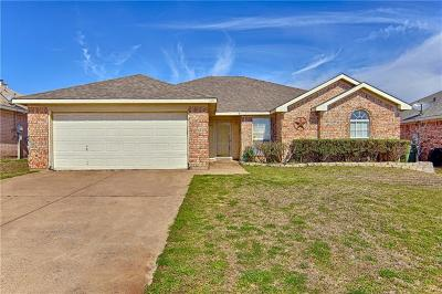 Mansfield Single Family Home Active Option Contract: 1606 Tyler Terrace