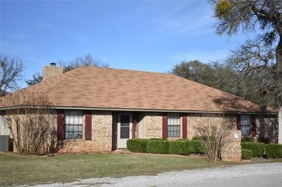 Somervell County Single Family Home Active Option Contract: 1250 County Road 1020