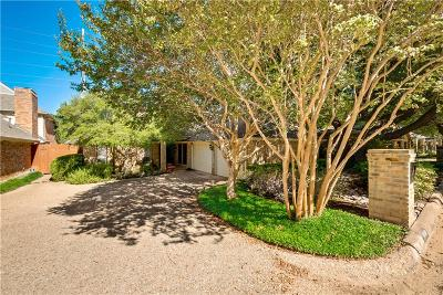 Dallas Single Family Home For Sale: 16140 Chalfont Circle