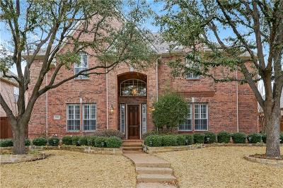 Plano Single Family Home Active Option Contract: 4589 Sundance Drive