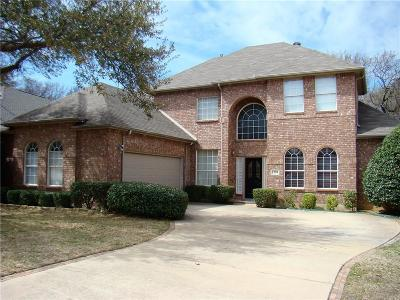 Flower Mound Single Family Home For Sale: 1304 Big Canyon Drive