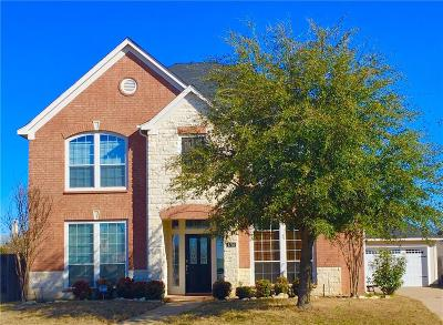 Fort Worth Single Family Home For Sale: 4756 Slippery Rock Drive