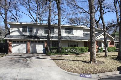 Fort Worth Single Family Home For Sale: 3229 Tanglewood Trail