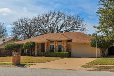 Euless Single Family Home Active Option Contract: 410 Evans Drive