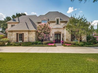Dallas Single Family Home For Sale: 5377 Bent Tree Drive
