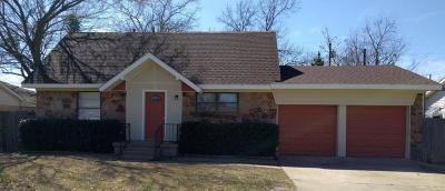 Terrell Single Family Home For Sale: 869 Beverly Drive