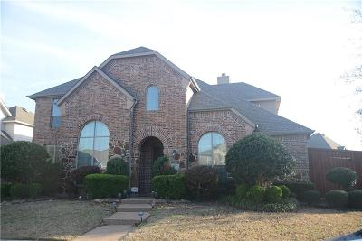 Plano Single Family Home Active Option Contract: 4008 White Porch Road