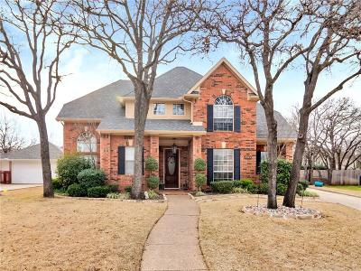 Keller Single Family Home Active Option Contract: 1608 Birchmont Lane