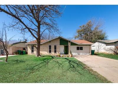 Cedar Hill Single Family Home Active Option Contract: 1222 Mars Drive