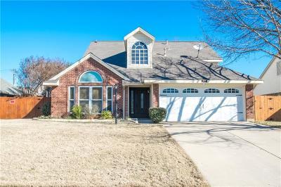 Hurst Single Family Home Active Option Contract: 717 Timbercreek Drive