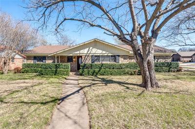 Hurst Single Family Home Active Option Contract: 1000 W Creek Drive