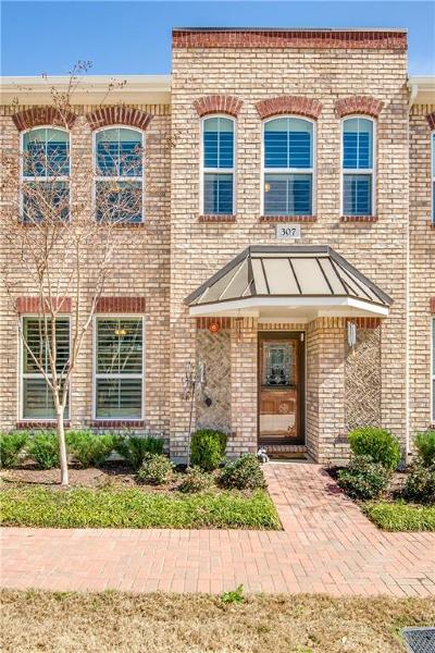 Lewisville Townhouse For Sale: 307 Lily Lane