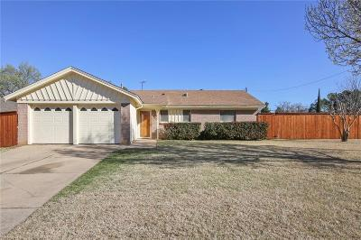 Euless Single Family Home Active Option Contract: 1602 Tyler Avenue